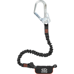 Самостраховка Climbing Technology с амортизатором рывка Flex ABS Steel I-L, black/orange, самостраховка с амортизатором, 180