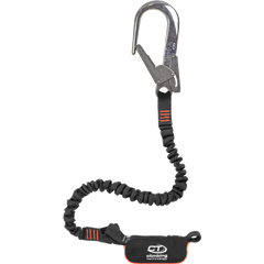 Самостраховка Climbing Technology с амортизатором рывка Flex ABS Combi I-S, black/orange, самостраховка с амортизатором, 125